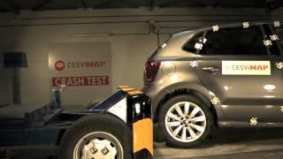 Crash Test trasero VW Polo
