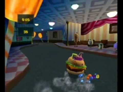 SpongeBob SquarePants Movie Video Game - Sundae Driving