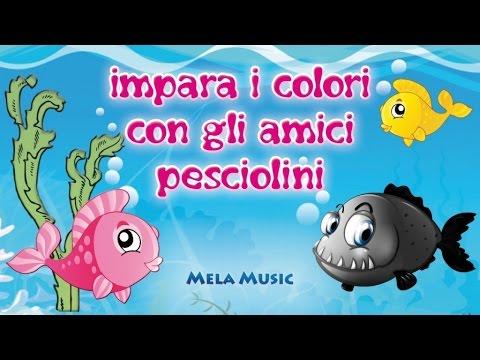 impara i colori con gli amici pesciolini - canzoni per bambini
