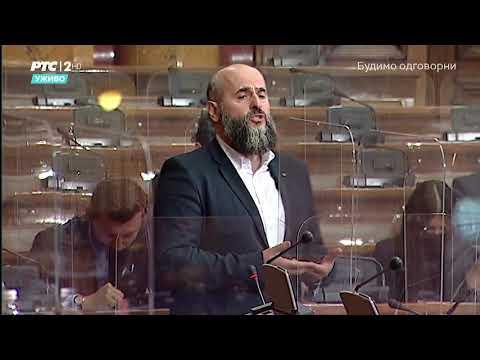 Obraćanje u Skupštini 27. 04. 2021. g. – Akademik Muamer Zukorlić