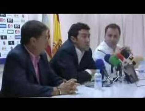 Presentación de Juan Carlos Mandiá como entrenador del Hércules CF