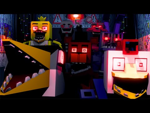 Five Nights at Freddy's Movie Animated! (Minecraft Animation)