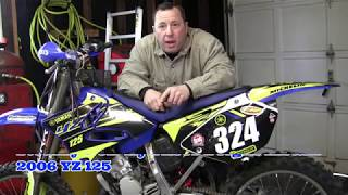 5. Steahly 7 oz  Flywheel weight install 2006 YZ125