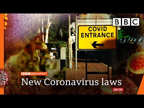 Crackdown on Covid rule-breakers: Up to £10,000 fines @BBC News LIVE on iPlayer 🔴 - BBC