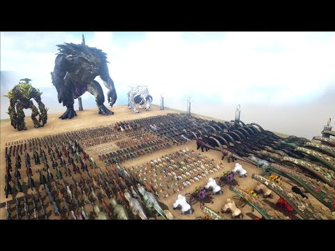 BIGGEST ARK BATTLE EVER MADE - 200K SPECIAL | Cantex