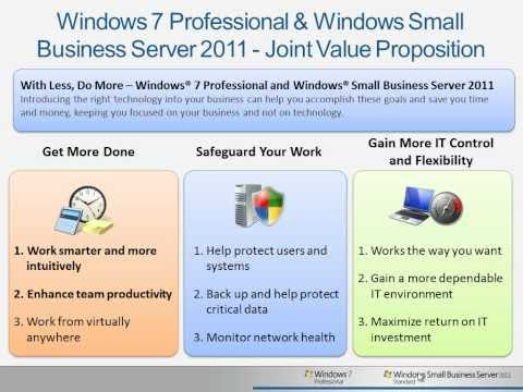 Windows SBS 2011 Standard & Windows 7 Pro - Index and Search