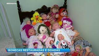 Marília: bonecas restauradas e doadas