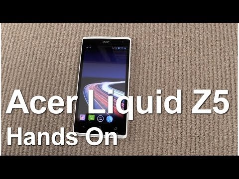 Hands on with the Acer Liquid Z5 smartphone