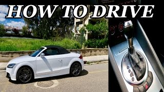 How To Drive An Automatic Car In 30 Seconds!