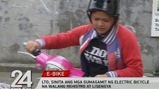 Video LTO, sinita ang mga gumagamit ng electric bicycle na walang rehistro at lisensya MP3, 3GP, MP4, WEBM, AVI, FLV September 2018