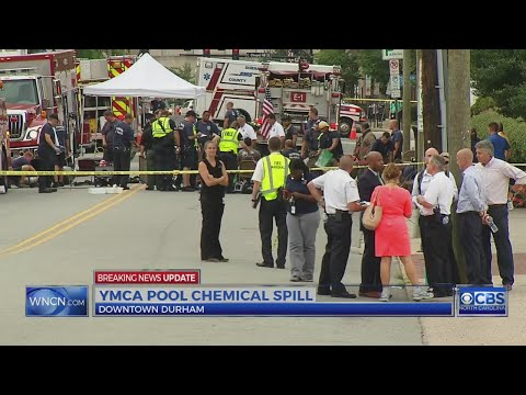 40 children sent to hospital after chemical leak at Durham YMCA