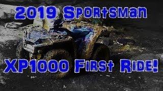 6. 2019 SportsmanXP1000 First Ride | RZR V Mud | Blue Holler