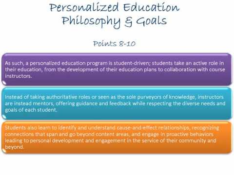 Personalized Education Overview