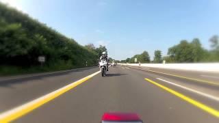 GoPro Hero2 Timelapse - Von Essen nach Düsseldorf - YZF-R125