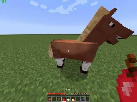 Как сделать броню для лошади в майнкрафте 175