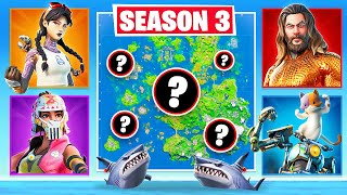 SEASON 3 *RANDOM BOSS* Challenge in Fortnite Battle Royale
