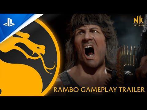 Mortal Kombat 11 Ultimate - Official Rambo Gameplay Trailer   PS4, PS5