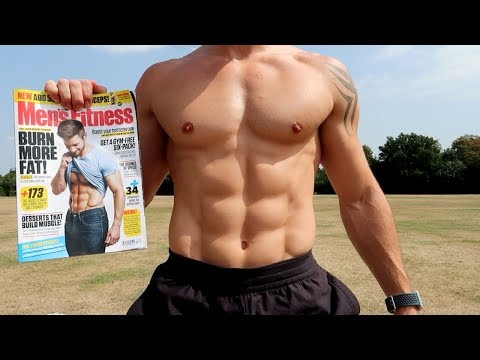 10 Minute Abs Workout! (MENS FITNESS MAGAZINE)