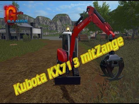 Kubota KX71 3 mitZange v2.0
