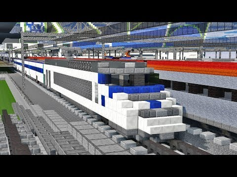 Minecraft Train To Busan KTX Animation