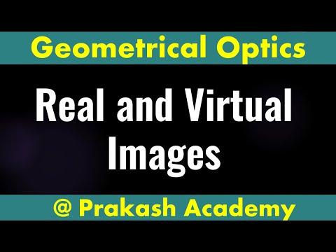 Reale und virtuelle Bilder