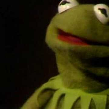 green - The first version on Sesame Street of Kermit's famous song.