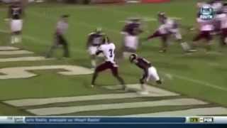 Highlights for Eric Thomas, WR, Troy.