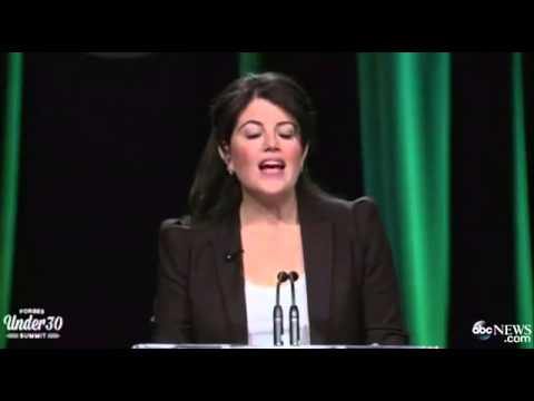 Monica Lewinsky Tears Up During Speech About Life After Bill Clinton