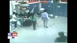 Une femme tuée par un caddy en Chine