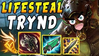 Video FULL Lifesteal Tryndamere | 1 Crit = FULL HEAL - Shiv + Gunblade Synergy | League of Legends MP3, 3GP, MP4, WEBM, AVI, FLV November 2018