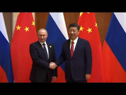 Putin, xi meet on the sidelines of the Belt and Road Forum in Beijing