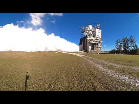 World's Most Powerful Rockets Tested in 360°