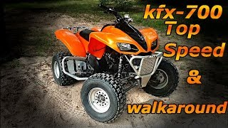 1. KFX-700: Top Speed