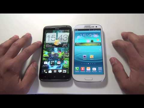 HTC One X - Videocomparativa HTC One X vs Samsung Galaxy S III por el equipo de http://www.andro4all.com Consigue los mejores accesorios para tu smartphone en http://www...