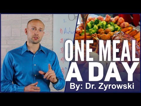 One Meal A Day 2018 | Extreme Fasting With OMAD