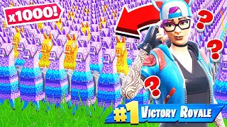 *1000* LLAMA Random LOOT Challenge *NEW* Creative Mini Game in Fortnite Battle Royale
