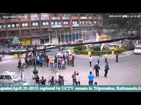Erdbeben Nepal :Live-Aufnahmen der Zerstörung