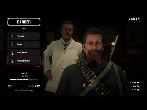 Red Dead Redemption 2 beard styles long