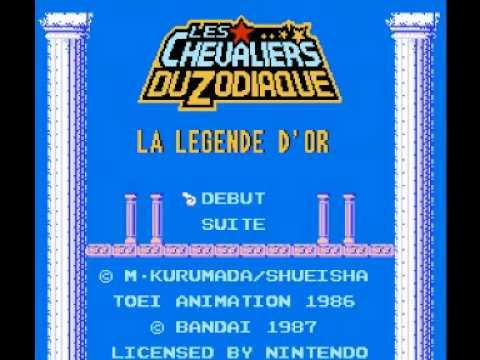 Les Chevaliers du Zodiaque : La L�gende d'Or NES