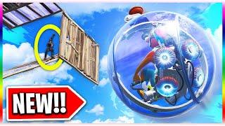 *NEW* Baller Vehicle Gameplay in Fortnite! (Fortnite Battle Royale Hamster Ball Update)