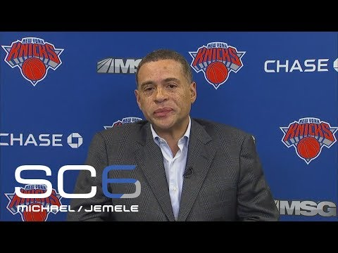 Knicks GM Scott Perry Talks Kyrie Irving And Carmelo Anthony | SC6 | ESPN