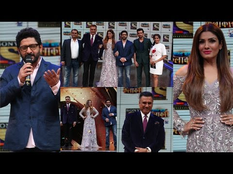 Raveena Tandon & Arshad Warsi At Launch Of New Show Sabse Bada Kalakar