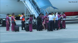 Video Pergantian Jam Terbang Pramugari Lion Air di Bandara Husein Sastranegara Kota Bandung Jawa Barat MP3, 3GP, MP4, WEBM, AVI, FLV Januari 2019
