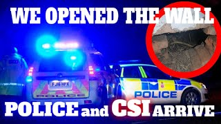 Video THE POLICE WERE SHOCKED AT WHAT WE FOUND IN THE WALL OF THIS ABANDONED HOUSE MP3, 3GP, MP4, WEBM, AVI, FLV Januari 2019