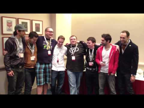 Mindcrack says Hi to Craftsmen Collective from Minecon 2012