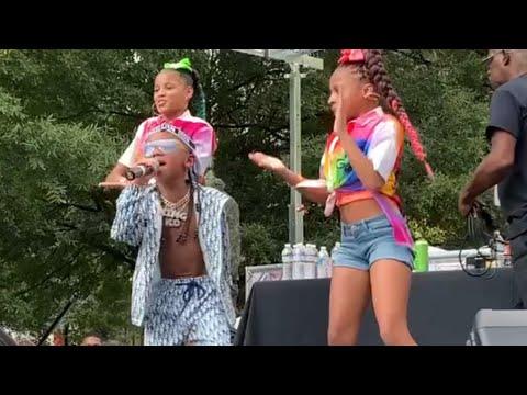 KD DA KID- PERFORMS MILLIONAIRE  AT ATL HIP HOP DAY| VLOG