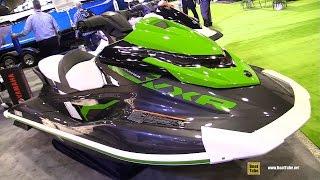 6. 2017 Yamaha VXR Jet Ski - Walkaround - 2017 Montreal Boat Show