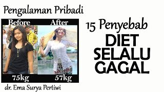 Video 15 Penyebab Berat Badan Sulit Turun / Gagal Diet (Tips Menurunkan Berat Badan) MP3, 3GP, MP4, WEBM, AVI, FLV Juni 2018