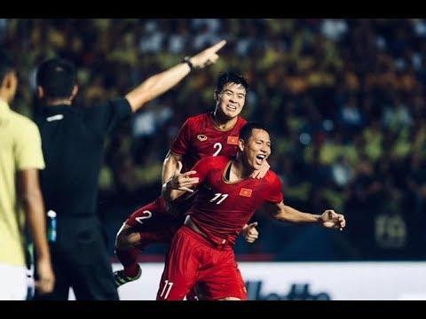 Anh Đức tỏa sáng ghi bàn phút bù giờ trận Việt Nam vs Thái Lan King Cup 2019 @ vcloz.com