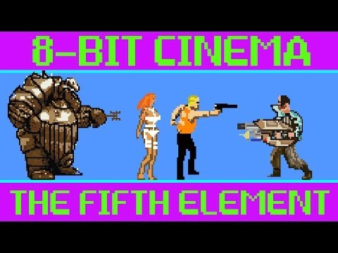 fifth - CineFix presents The Fifth Element retold via old-school 8-bit - and a little 16 bit ;) - game tech. No quarters or controllers required! Subscribe to CineFi...
